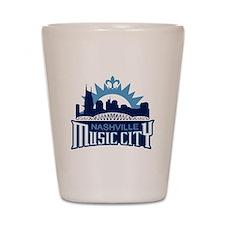 Music City Shot Glass
