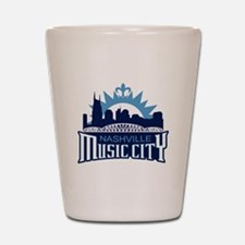 Music City Shot Glass