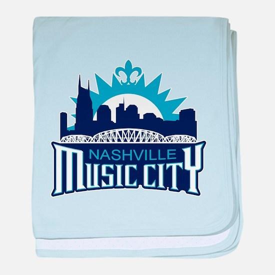 Music City baby blanket