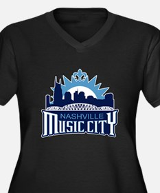 Music City Plus Size T-Shirt