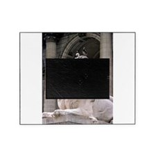 NY Public Library Lion: Fortitude Picture Frame