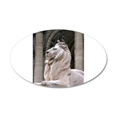 NY Public Library Lion: Fortitude Wall Decal