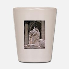 NY Public Library Lion: Fortitude Shot Glass