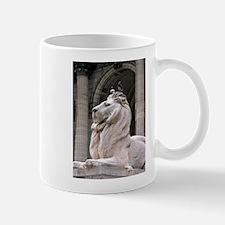 NY Public Library Lion: Fortitude Mug