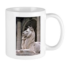NY Public Library Lion: Fortitude Small Mug