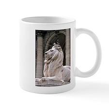 NY Public Library Lion: Fortitude Small Small Mug