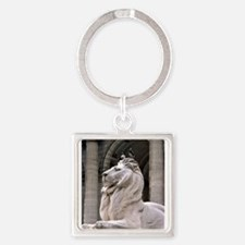 NY Public Library Lion: Fortitude Keychains