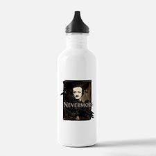Poe Raven Nevermore Water Bottle