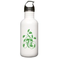 Stylized Carnivorous Plant Stainless Water Bottle