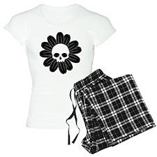 Skull Daisy Pajamas