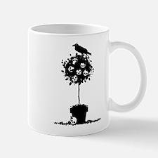 Evil Skull Topiary Mug