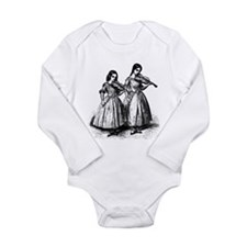 Surly Violin Girls Long Sleeve Infant Bodysuit