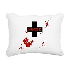 Evil Bloody Nurse Rectangular Canvas Pillow