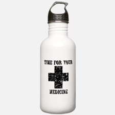 Time For Your Medicine Water Bottle