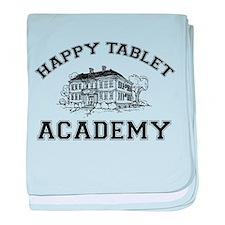 Happy Tablet Academy baby blanket