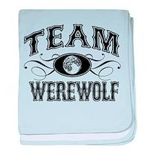 Team Werewolf baby blanket