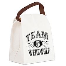 Team Werewolf Canvas Lunch Bag