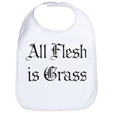 All Flesh Is Grass Bib