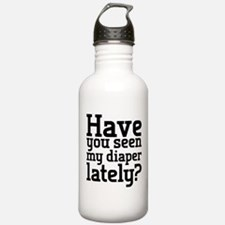 Have you seen baby's diaper lately? Water Bottle