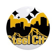 Steel City Ornament (Round)
