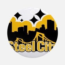 Steel City Ornament (Round)