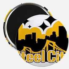"Steel City 2.25"" Magnet (10 pack)"