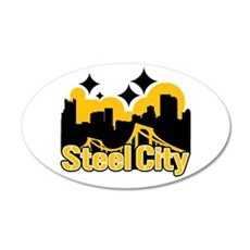 Steel City Wall Decal
