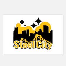Steel City Postcards (Package of 8)