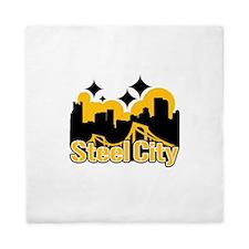 Steel City Queen Duvet