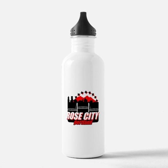 Rose City Water Bottle