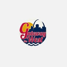 Gateway to the West Mini Button