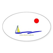 Marina Oval Decal