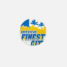 Americas Finest City Mini Button