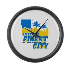 Americas Finest City Large Wall Clock