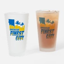 Americas Finest City Drinking Glass