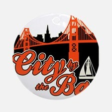 City by the Bay Ornament (Round)