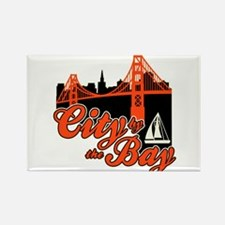 City by the Bay Rectangle Magnet