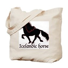 Unique Icelandic horse Tote Bag