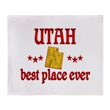 Utah Best Throw Blanket