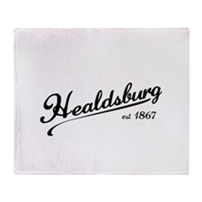 Healdsburg est 1867 Throw Blanket
