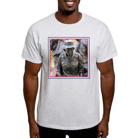 Vietnam Womens Memorial 3 Ash Grey T-Shirt