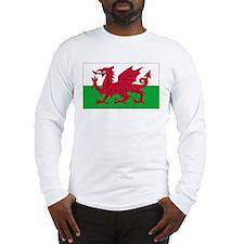 Wales Flag Long Sleeve T-Shirt