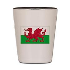 Wales Flag Shot Glass