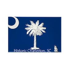 Historic Charleston Rectangle Magnet