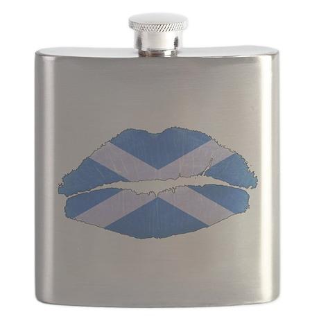 Scot Lips Flask