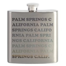 palm springs, california Flask