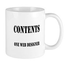 Contents One Web Designer Mug