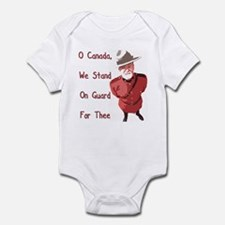 Stand on Guard for Thee! Infant Bodysuit