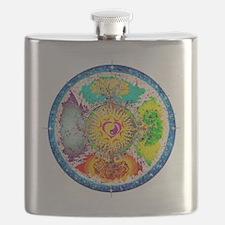 Four Seasons Mandala Flask