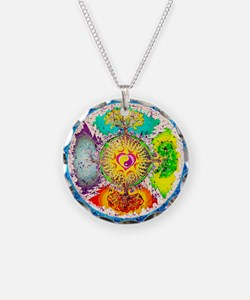 Four Seasons Mandala Necklace